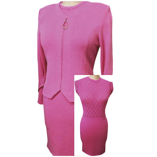 Solini Pink Dress with Jacket_LC6737